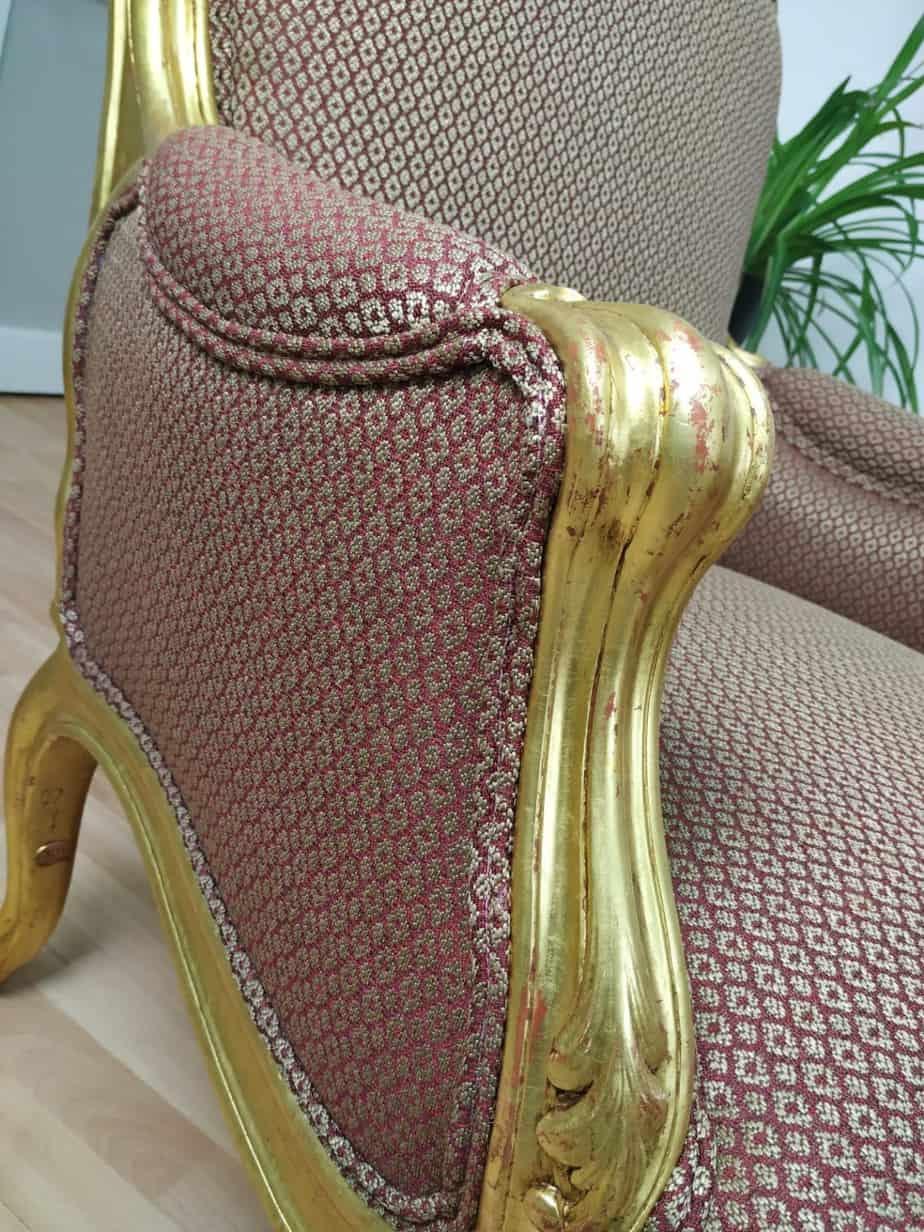 Restauro de cadeira em Embaixada Britânica